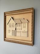 Cardboard Custom House D1 - @alinescardb