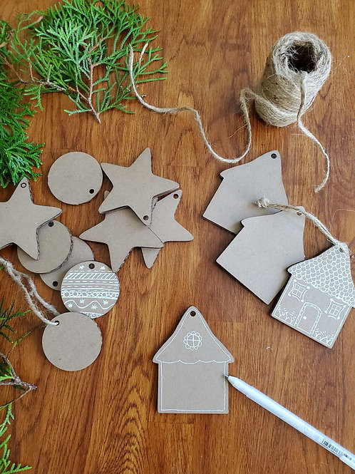 DIY -  Christmas Ornaments