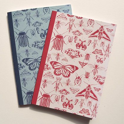 2 Insect Notebooks - A5