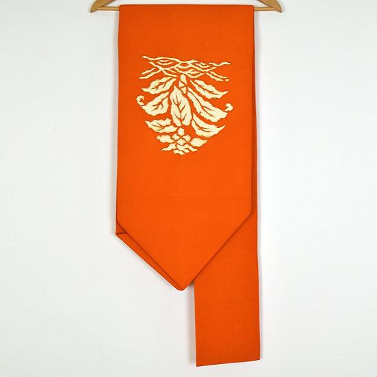 Orange Vintage Nagoya Obi