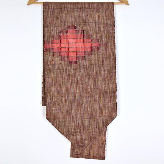 Woven Red Vintage Nagoya Obi