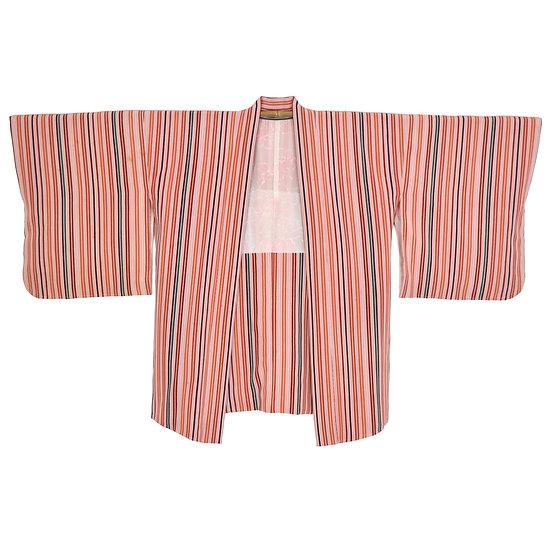 Candy Stripe Vintage Haori
