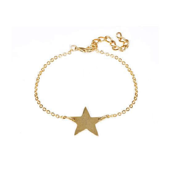 Gold Plated Star Bracelet