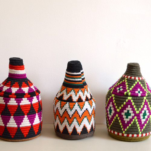 Vintage Wool Pots