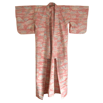 Candy Floss Vintage Kimono
