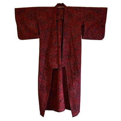 Merlot Vintage Kimono