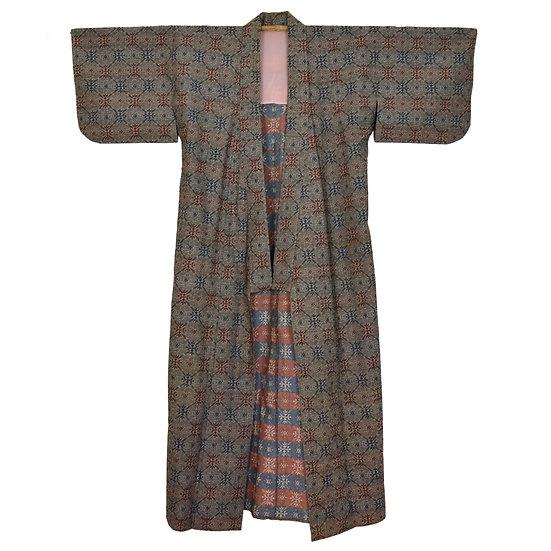 Ace of Spades Vintage Kimono