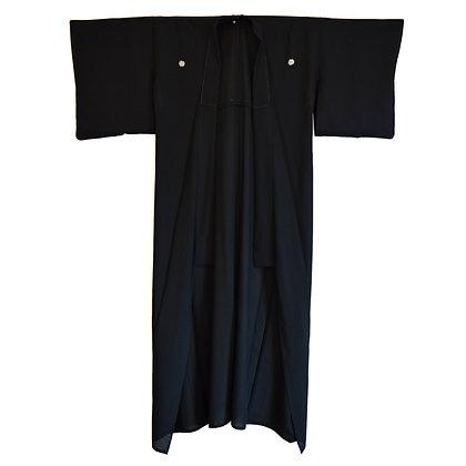Jet Vintage Kimono