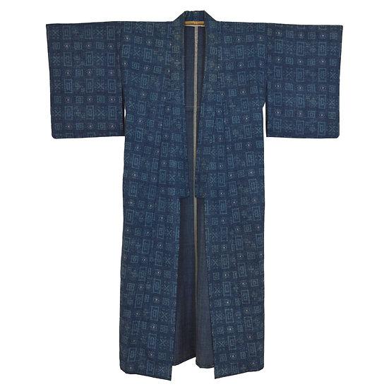 Denim Wash Vintage Kimono