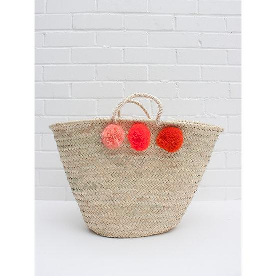 Pom Pom Market Basket
