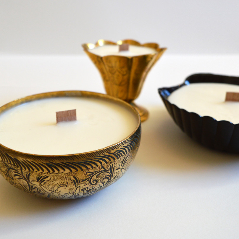 Up-cycled Candles
