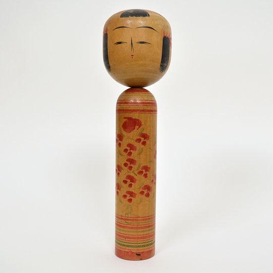Vintage Kokeshi Doll 4