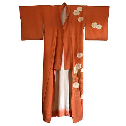 Clementine Vintage Kimono
