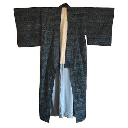 Blue Diamond Vintage Kimono