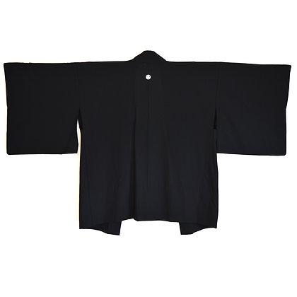 Sheer Black Vintage Haori