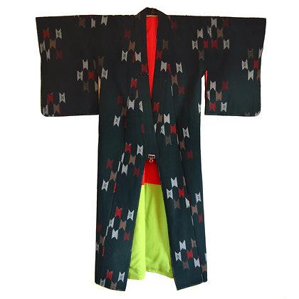 Rock Cap Vintage Kimono