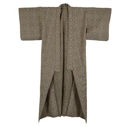 Winter Artichoke Vintage Kimono