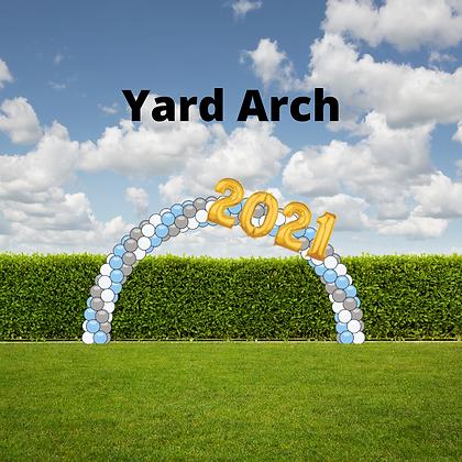 Prom and Graduation Yard Arch