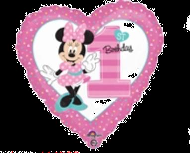 First Birthday Minnie 18 inch