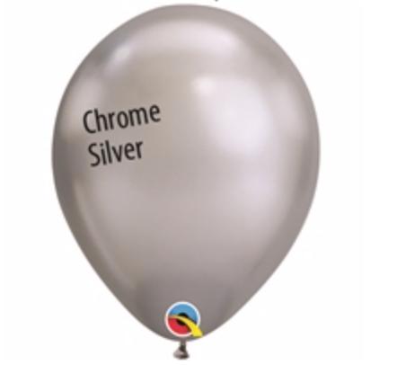 Chrome Silver 11 inch