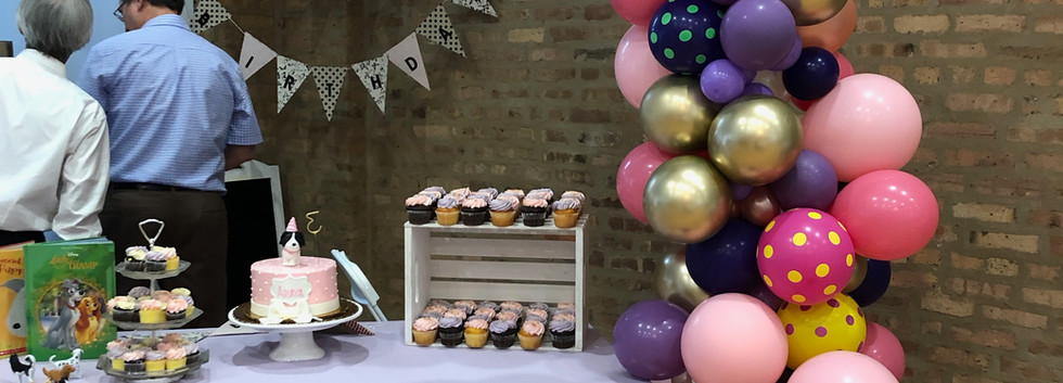 Demi Arch Cake Table