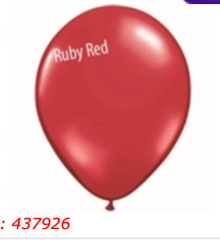 Ruby Red 11 inch