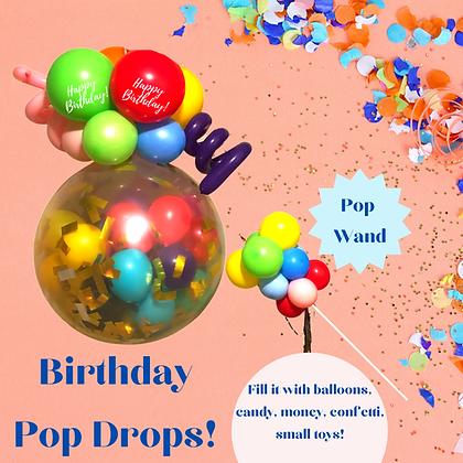 Birthday Pop Drops