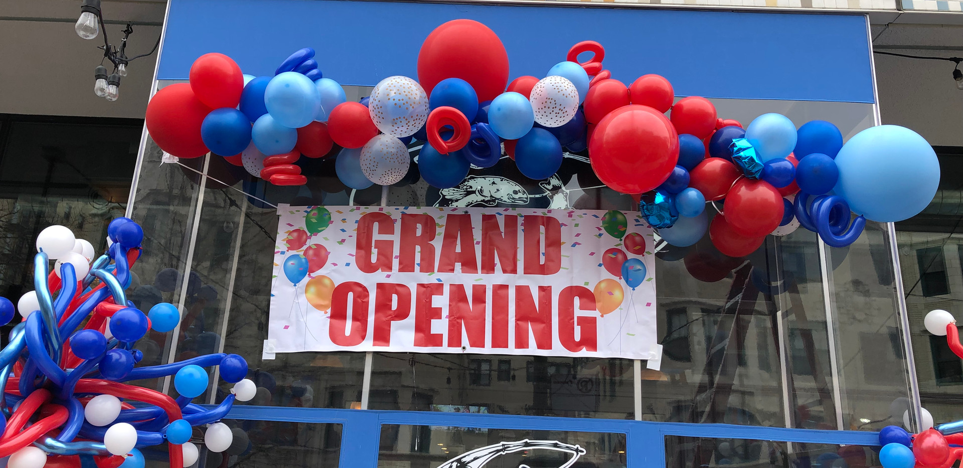 Grand Openign balloons