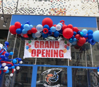 Grand Openign balloons