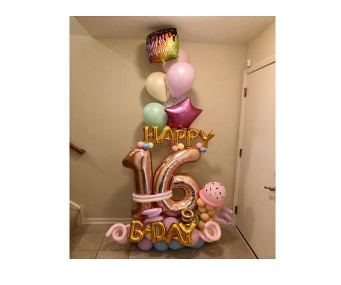 01-Sweet 16 Balloon