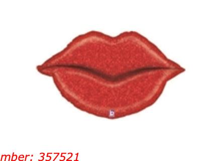 Lips 39 inch