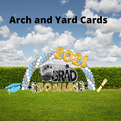 Graduation Arch & Yard Cards