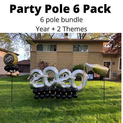 Party Pole 6 Pack