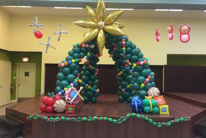 Christmas Tree Arch