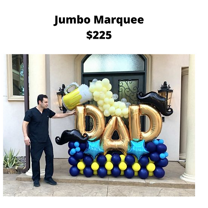 Father's Day Jumbo Marquee