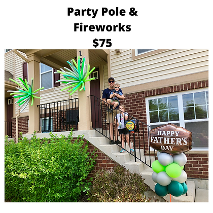 Father's Day Party Pole