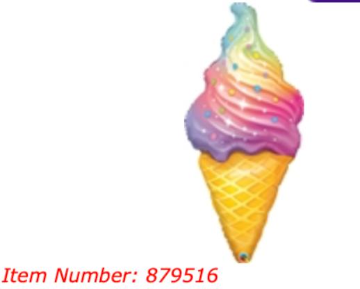 Ice Cream 40 inch
