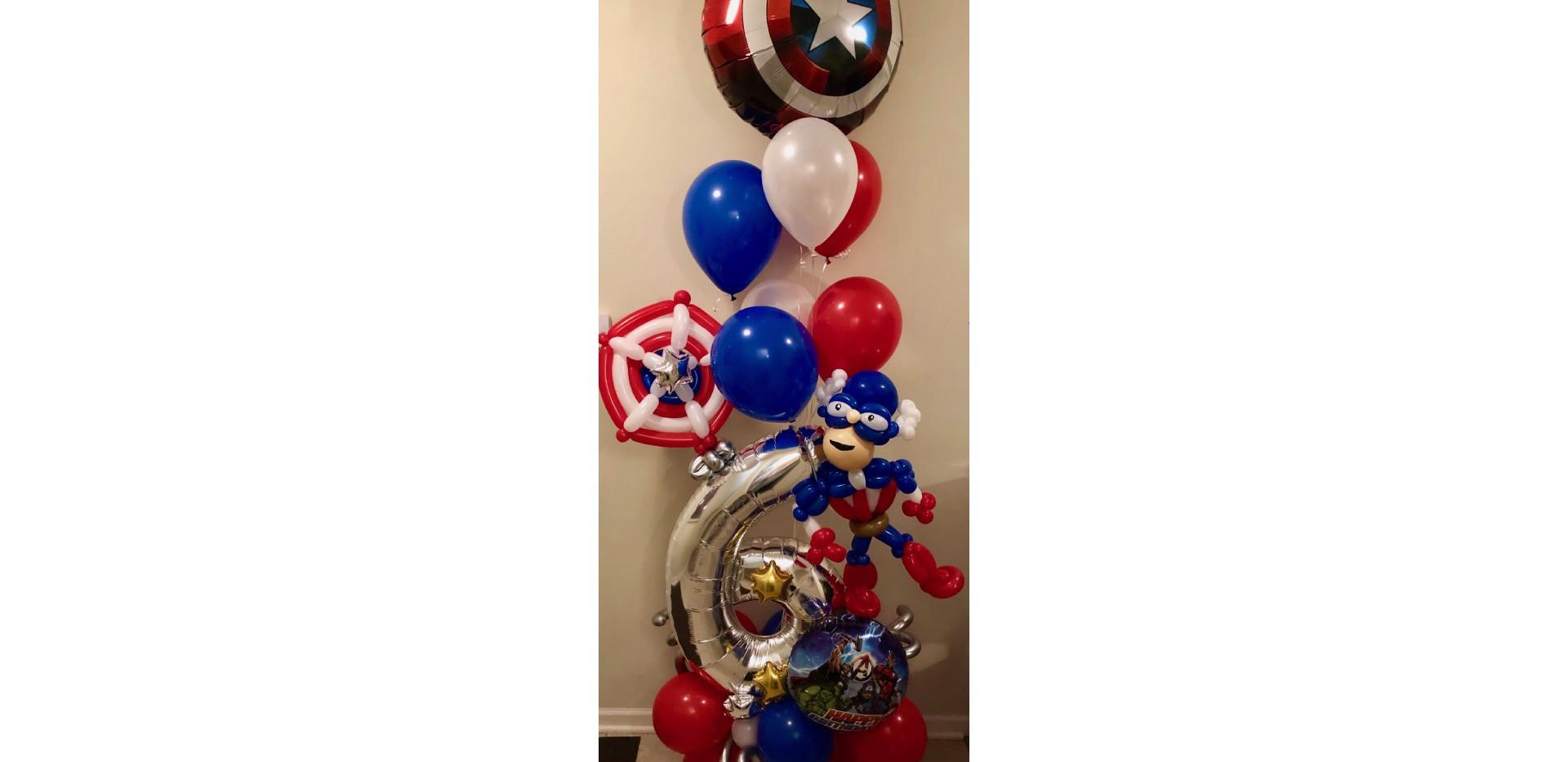 10-Captain America!!