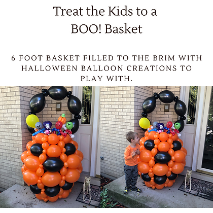 Boo Basket Party