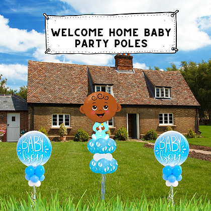 Welcome Home Baby Party Pole Pack