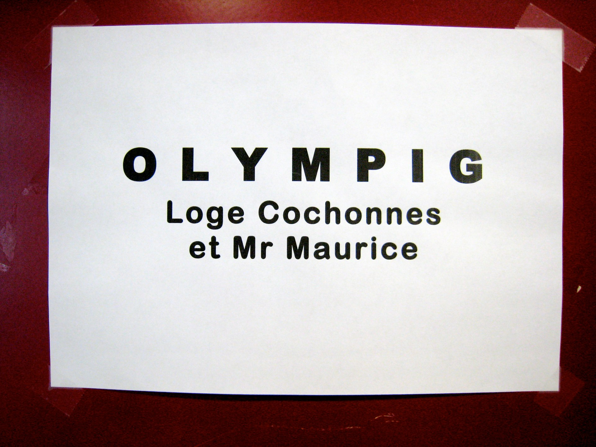 loges Olympig