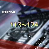 BPM113~124を試聴