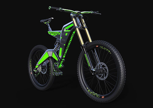 momentum, ebike, kronholm design copenhagen, kd ebike, full suspension, eco friendsly, downhill ebike, mountain ebike, cutting-edge,