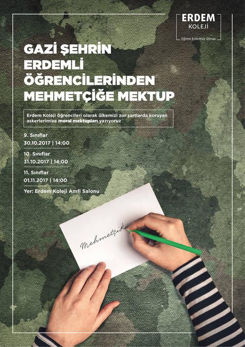 Mehmetçik'e Mektup