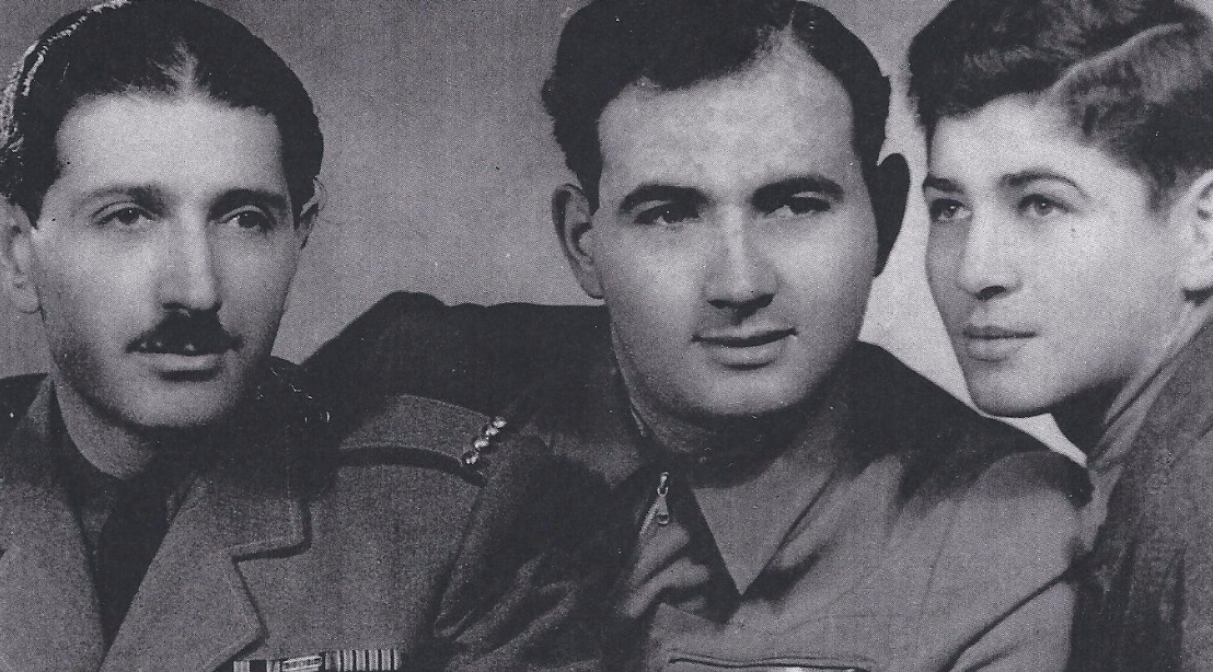 Miklos, Emery and Tibor Rubin, 1947