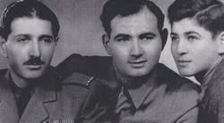Miklos, Emery and Tibor Rubin, 1947