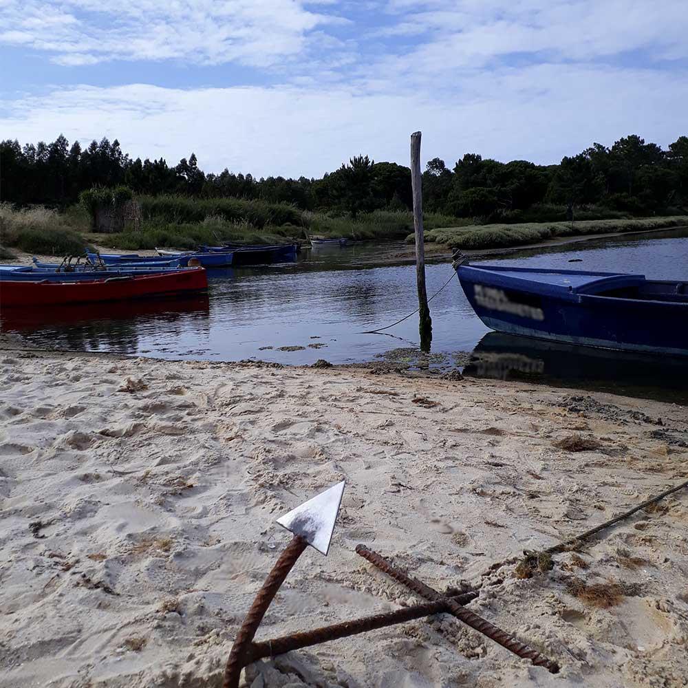 A Lagoa de Óbidos