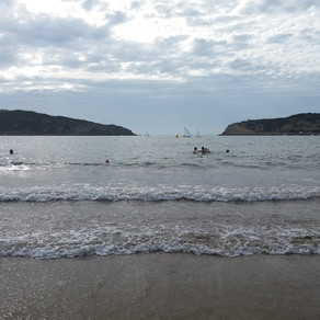Playa de São Martinho de Porto: un paraíso familiar con forma de concha