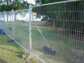 Site Fencing, Temporary Fencing