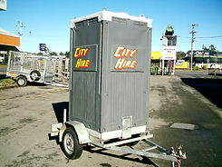 Portable Toilet Hire Brisbane - Single Trailer